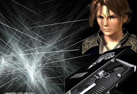 Squall Lionheart - Final Fantasy 8, Squall Lionheart, Squall, Final Fantasy VIII