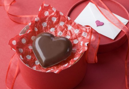 Heart of chocolate - chocolate, valentine day, romance, tooths, heart, sweet, love