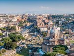 beautiful view of rome