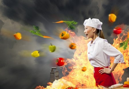 chef 3d wallpaper - photo #2
