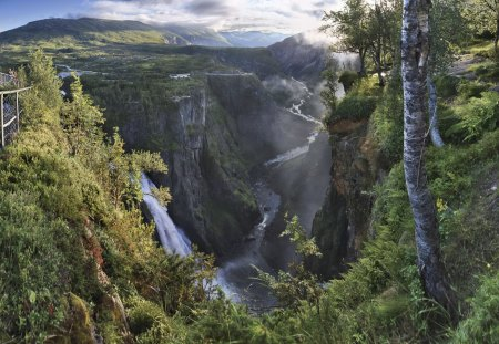 Mabodalen, Norway - river, mountain, nature, fun