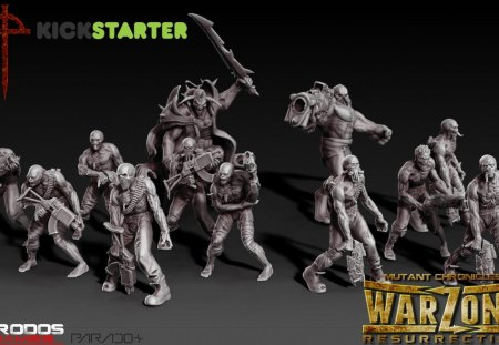 Warzone Resurrection Legion - warzone resurretion, tabletop, wargaming, 28mm