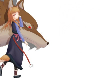 Holo The Wise Wolf - Anime Girls Wallpapers and Images - Desktop ...