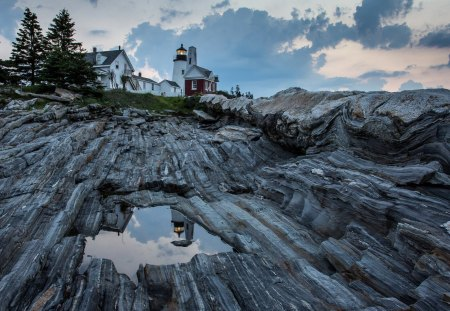 Pemaquid Point Lighthouse - Landscapes, Coastal, Lighthouses, Nature