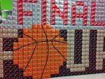 NCAA Final Four Coke Display