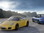 carrera gts blue and yellow