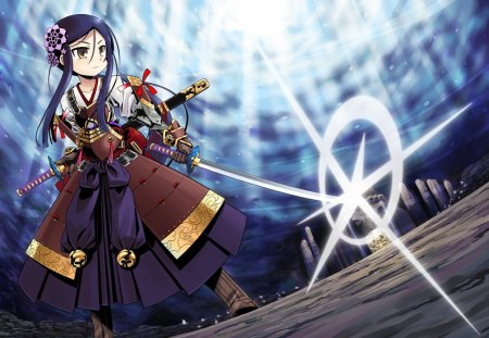 Little Samurai - Other & Anime Background Wallpapers on ...