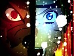 Nine Tailed Fox and Naruto