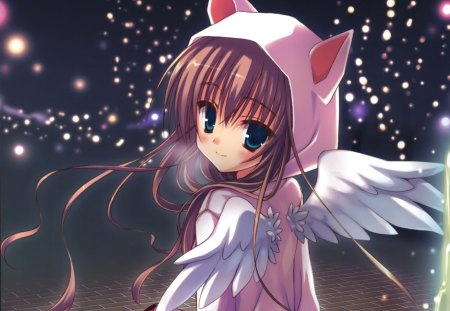 neko angel other amp anime background wallpapers on