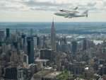 the enterprise over empire state building