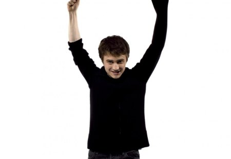 daniel_radcliffe - actor, man, style, black, white