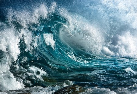 Giant wave - wave, amazing, storm, giant