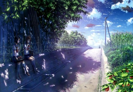 Summer Day - Other & Anime Background Wallpapers on ...