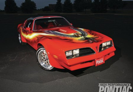 Pontiac Trans Am Flight Of Fantasy Muscle Cars Wallpapers