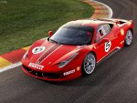 2011 Red Ferrari 458 race