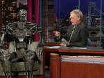 Terminator on the David Letterman Show