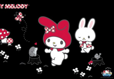 My Melody Hello Kitty Amp Anime Background Wallpapers On
