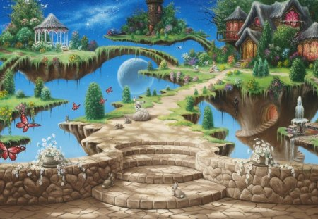 Fantasy land fantasy abstract background wallpapers - Fantasy land wallpaper ...