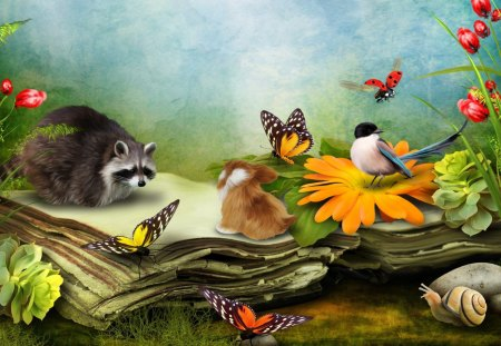 Book of Nature - Other & Nature Background Wallpapers on Desktop ...