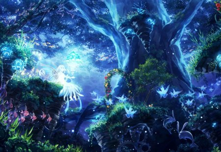 Fantasy world other anime background wallpapers on - Fantasy land wallpaper ...