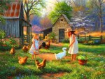 Evening at grandma\'s