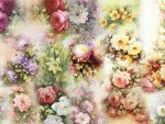 Floral Painting Collage