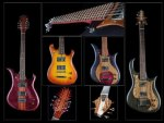 beautiful bass guitars