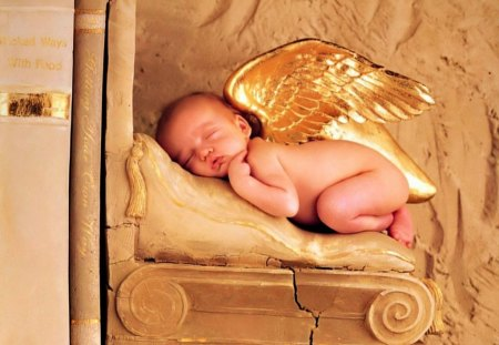 ~Sleeping Baby Angel~ - Fantasy & Abstract Background ...