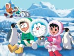 Doraemon Winter