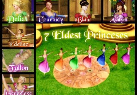 Barbie In The 12 Dancing Princesses Free Download Game Beauty And Charming Appears This Time A Role Of