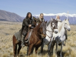 Aragorn, Legolas and Gandalf the Grey