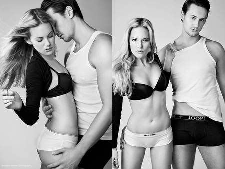 underwear - boy, model, beautiful, female, girl, man, underwear, woman, fashion, chic