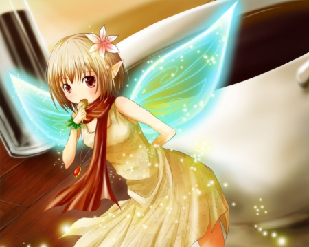 Lil' Fairy - Other & Anime Background Wallpapers on ...