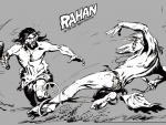 Rahan fighting
