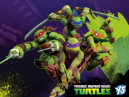 tmnt 2012 wallpaper - 2012, wallpaper, tmnt, turtles