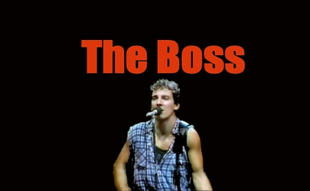 Image result for bruce springsteen boss