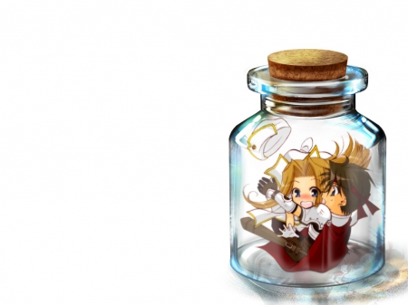 chibi in a Jar - Other & Anime Background Wallpapers on ...
