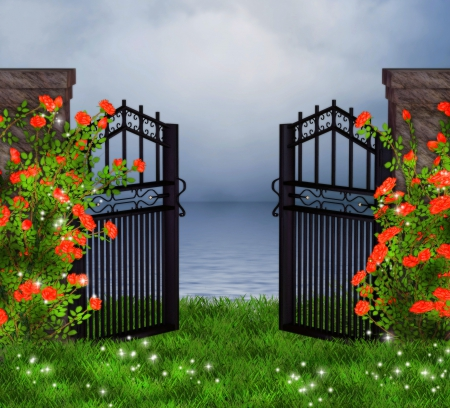 Welcome To Rose Garden Flowers Nature Background