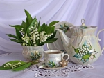 ♥ Lilly of the valley & tea time ♥