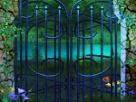 ✼Blue Gateway to the Lake✼