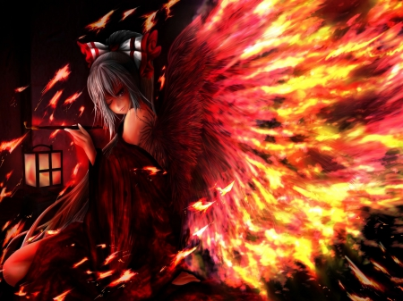 Fire angel ah my goddess anime background wallpapers - Anime girls with fire ...