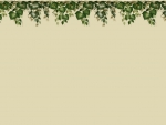 Green Vine Top Border F1