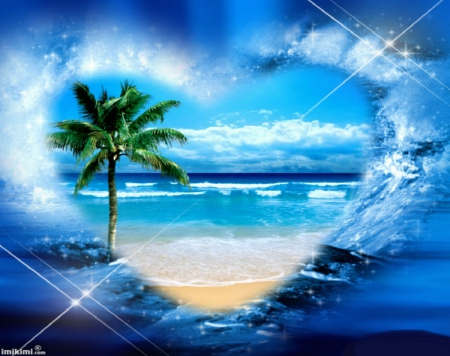 Summer Heart Other Amp Nature Background Wallpapers On