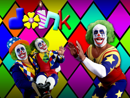 Doink the Clown - diamonds, doink, colors, dynamite, wwe, funny, flower, wwf, jokes, the, legends, dink, matt, wrestling, borne, clown
