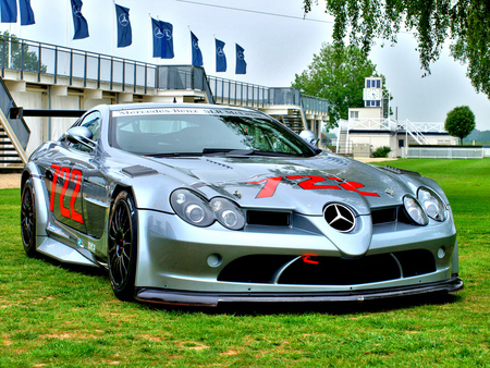 Mercedes SLR - slr, mb, car, tuning, mercedes