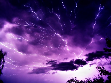 THUNDER STORM - nature, thunder, forces of nature