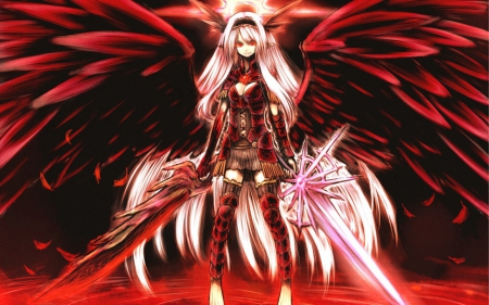 Angel of war other anime background wallpapers on - Anime war wallpaper ...