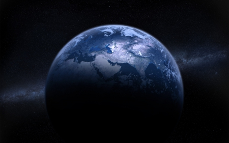 Beautiful Blue Earth - Beautiful Blue Earth, earth, blue world, earth from space, blue planet, blue earth