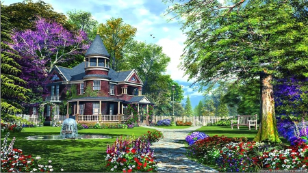 Dream home other nature background wallpapers on for 3d wallpaper for dream home