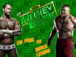 Cm Punk vs Brock Lesnar